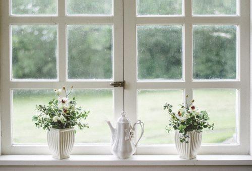 Holzfenster Sprossen
